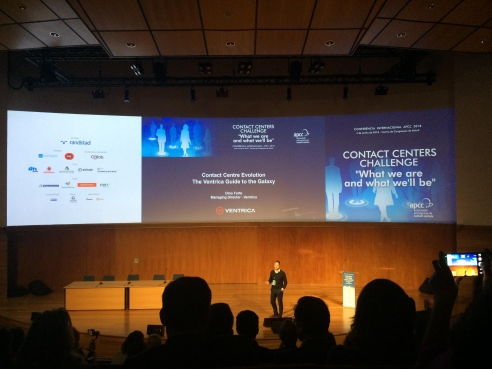 Ventrica speaks at Association of Portuguese Contact Centres' International Conference